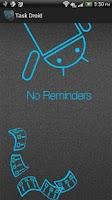 Screenshot of Task Droid Reminders