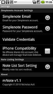 mNote - screenshot thumbnail