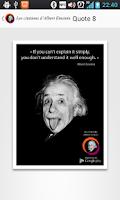 Screenshot of Albert Einstein Quotes