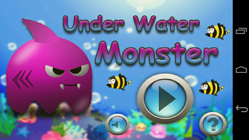 under water monster