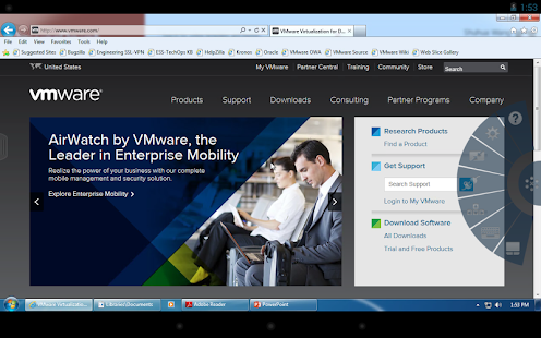 VMware Horizon Client Screenshot 22