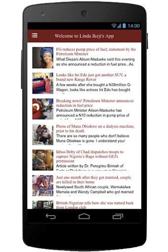 Linda Ikeji's App