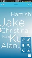 Screenshot of Nimbus Contacts