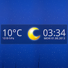 14 days Transparent Weather icon