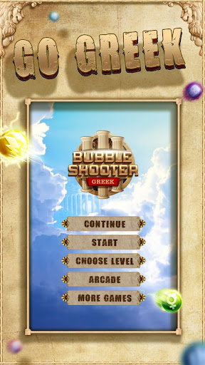 Bubble Shooter Greek