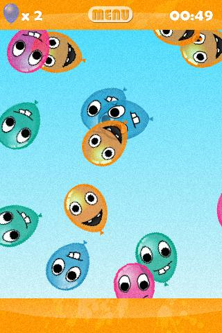 Happy Balloons - Kids- screenshot