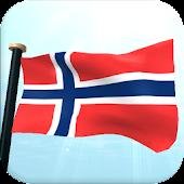 Norway Flag 3D Free Wallpaper