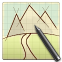 Sketch a Track - GPX Viewer icon