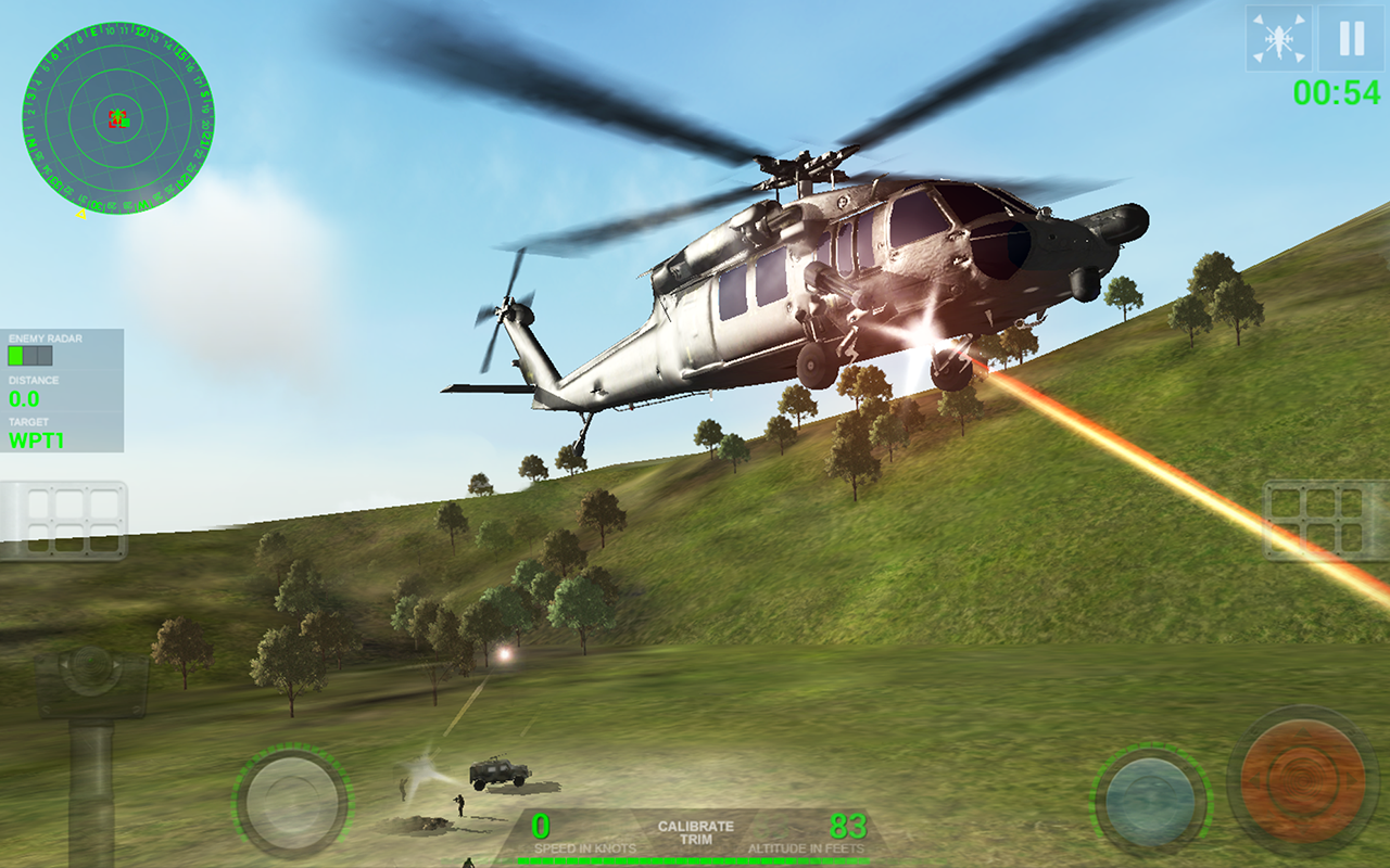 Helicopter Sim- screenshot