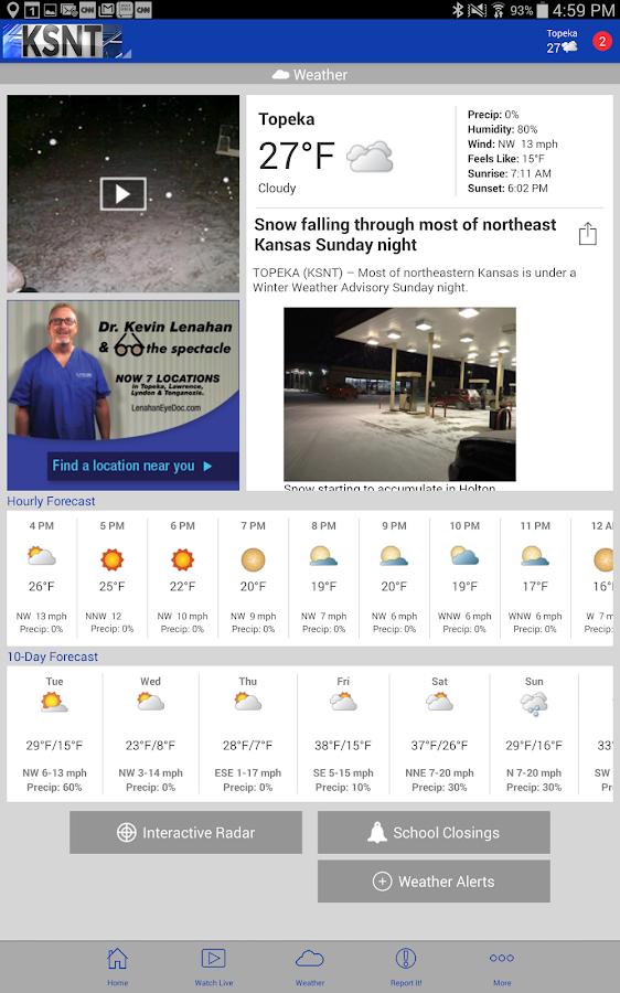 KSNT Kansas First News - screenshot