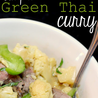 Simple Green Thai Curry