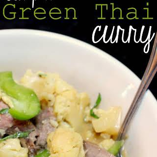 Simple Green Thai Curry.