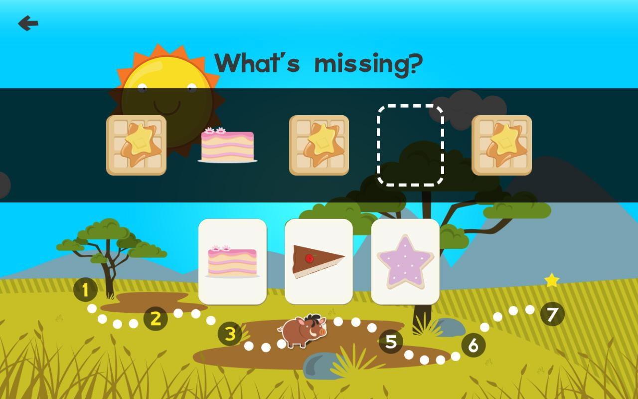Animal Math First Grade Math Games for 1st Grade- screenshot
