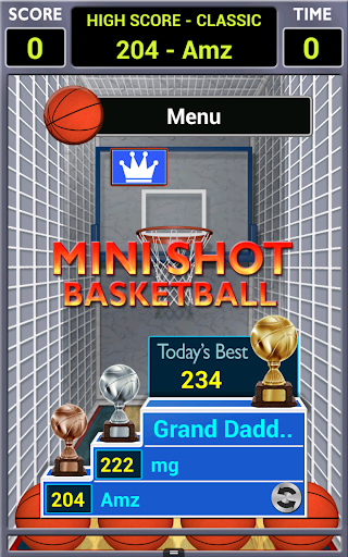 Mini Shot Basketball