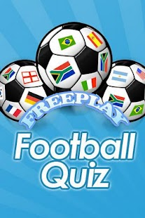FreePlay Football Quiz - screenshot thumbnail