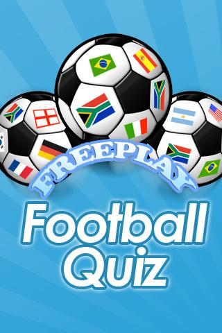 FreePlay Football Quiz - screenshot