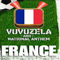 FRANCE VUVUZELA and ANTHEM! logo