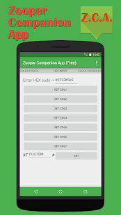 Zooper Companion App (Free)- screenshot thumbnail