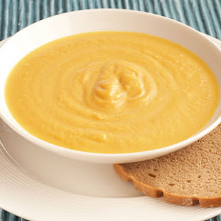Sweet Potato, Butternut Squash, Carrot and Ginger Soup.