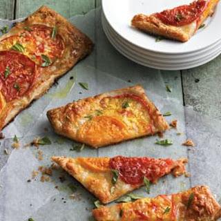 Rustic Tomato & Mozzarella Tart