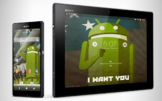 Screenshot of XPERIA™ Probot Theme