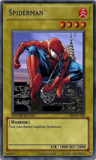 Card : Spider Man