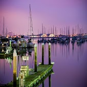 Boat Harbor Wallpaper