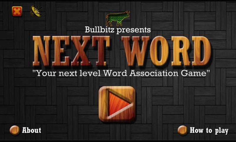 Next Word - Word Association - screenshot