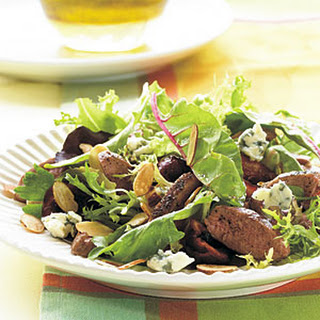 Grilled Duck Breast Salad with Champagne-Honey Vinaigrette.