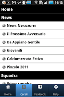 Screenshot of Canale Inter