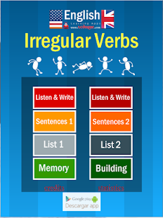 Vedoque Irregular Verbs- screenshot thumbnail
