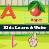 ABCD & Numbers Practice Kids