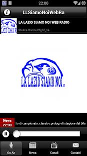 La Lazio Siamo Noi Web Radio - screenshot thumbnail