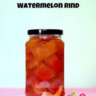 Sweet Watermelon Rind Pickles