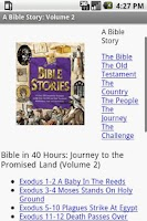 Screenshot of iBible Story Vol 1 Campaign