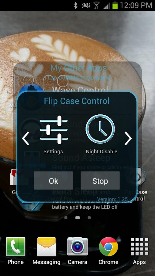 Flip Case Control Trial - screenshot
