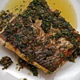 Pan-Seared Fish with Buttery Herbs