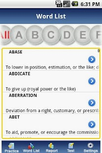 IntelliVocab for SAT,GRE,GMAT - screenshot thumbnail