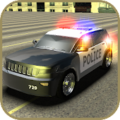 3D Police Cars Parking