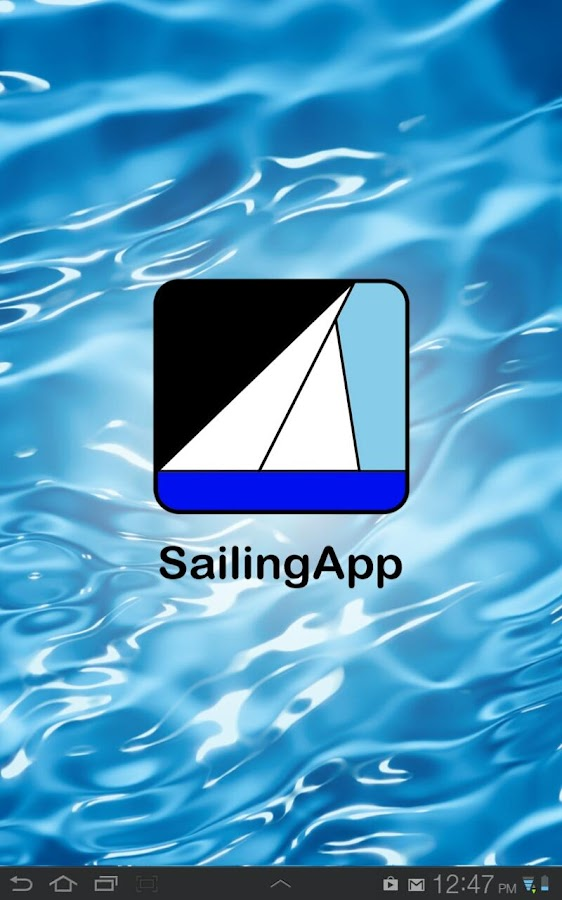 SailingApp - screenshot