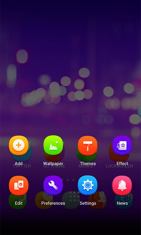 Escape GO Launcher Theme- screenshot