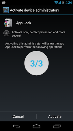 Advanced Protection ☞ AppLock 1.5 screenshot 6235