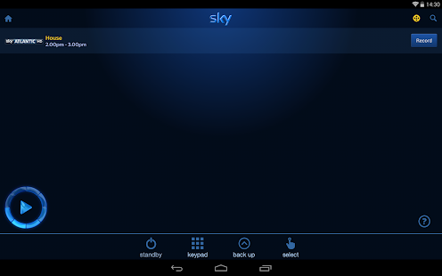 Sky+ - screenshot thumbnail