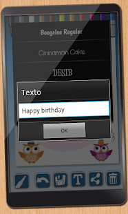 Design birthday cards- screenshot thumbnail