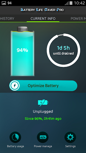 Battery Life Saver for Android