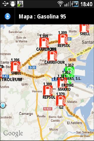 Postos combustivel Brasil- screenshot