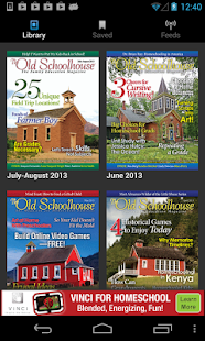 The Old Schoolhouse Magazine- screenshot thumbnail