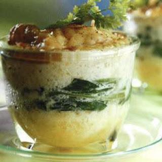 Cauliflower And Spinach Gratin
