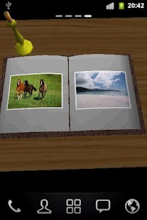 Photo Book 3D Live Wallpaper - screenshot thumbnail