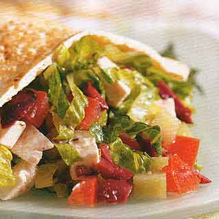 Greek Salad Pita Sandwiches.